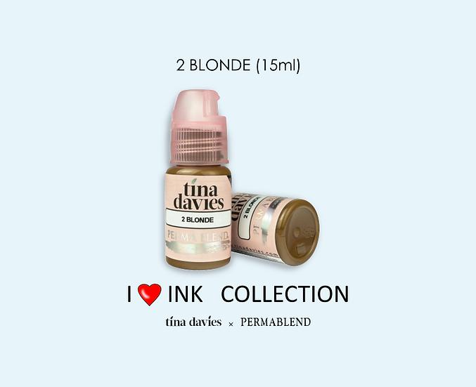 2 BLONDE Pigment (15ml)