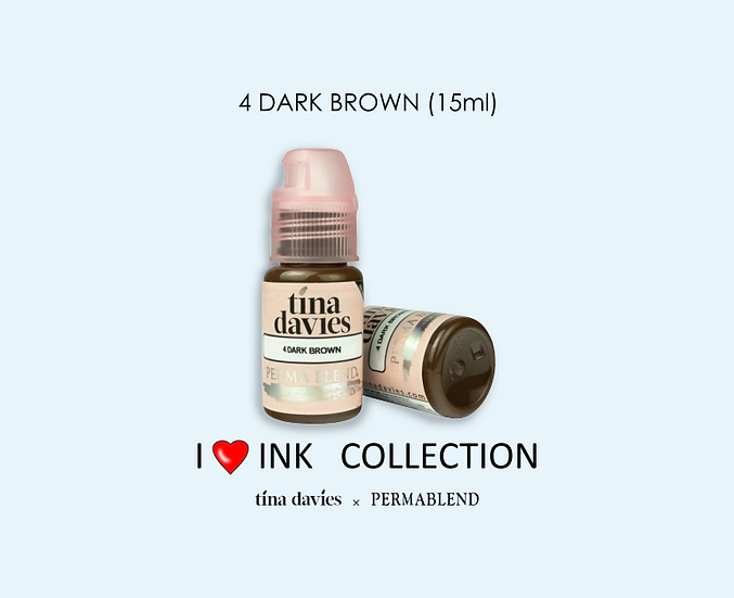 4 DARK BROWN Pigment (15ml)