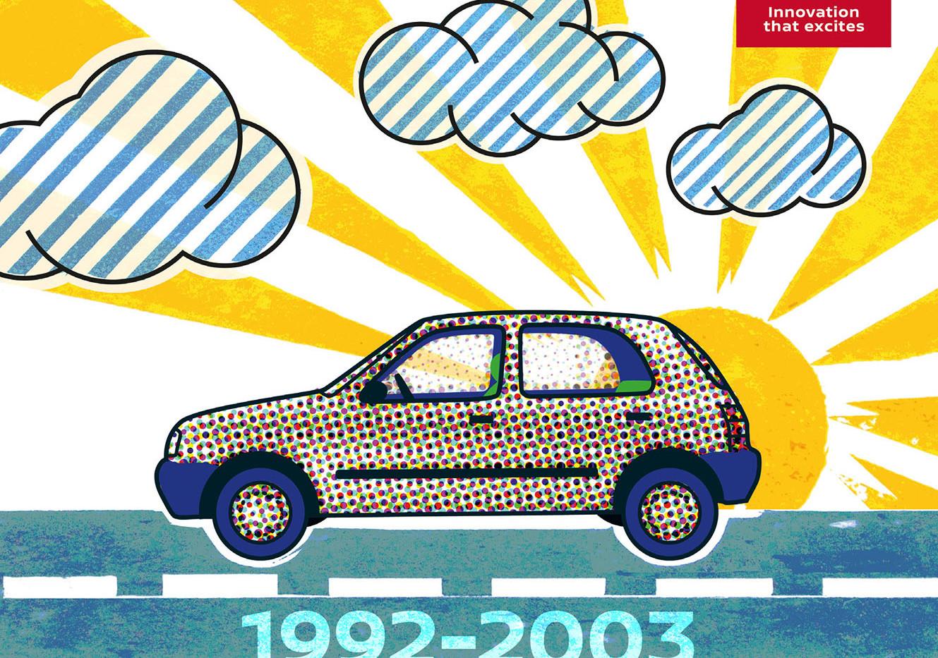 Nissan Micra 2. Generation