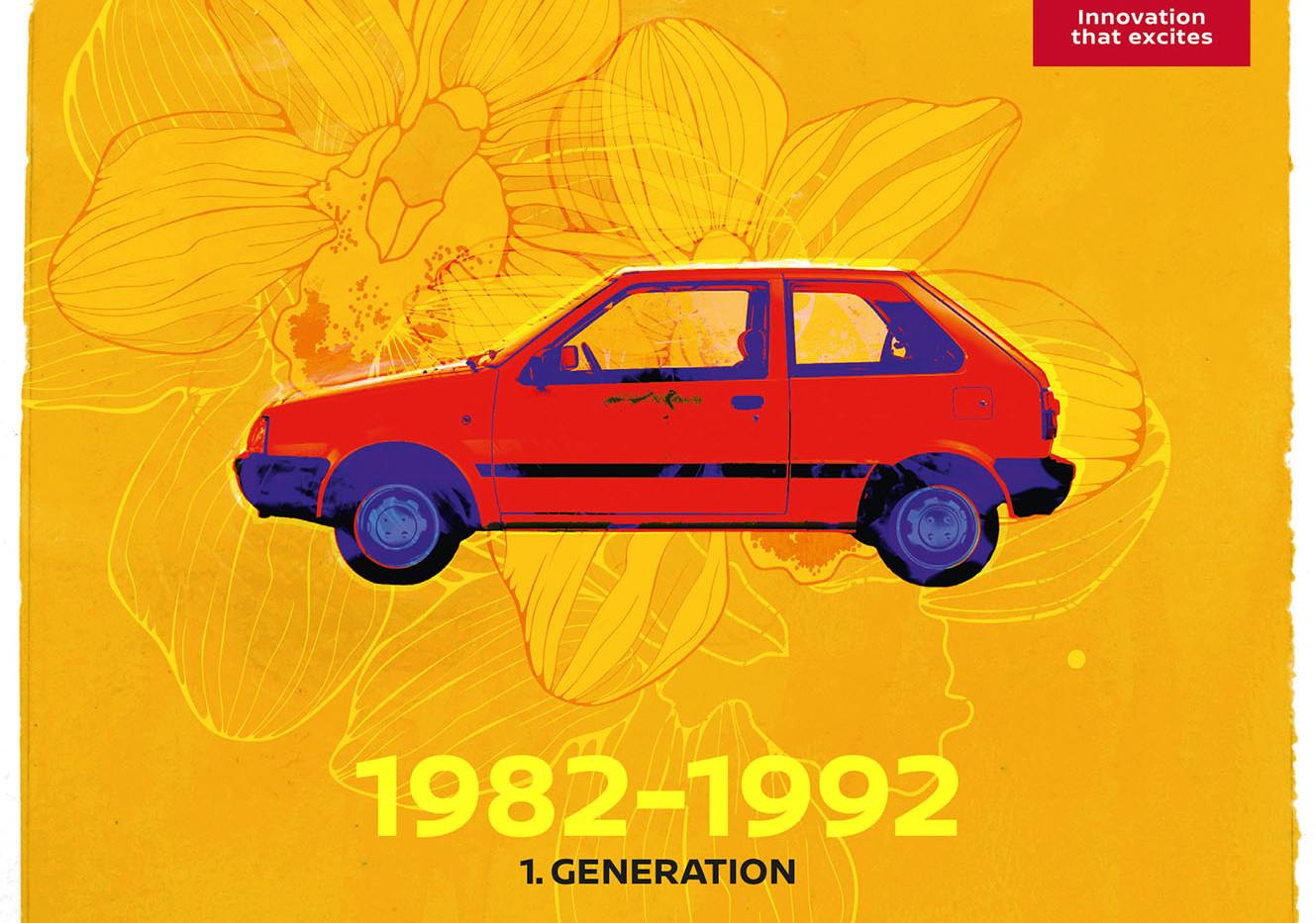 Nissan Micra 1. Generation