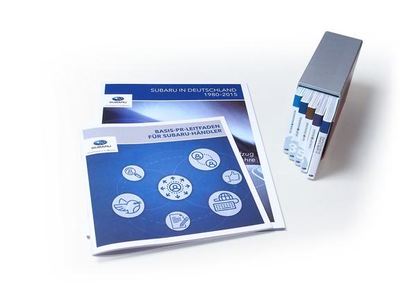 Editorialdesign – Subaru 35 jahre in Deutschland