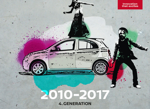 Nissan Micra 4. Generation