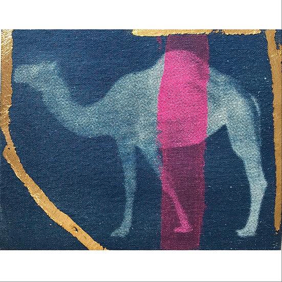 Gold & Pink Camel