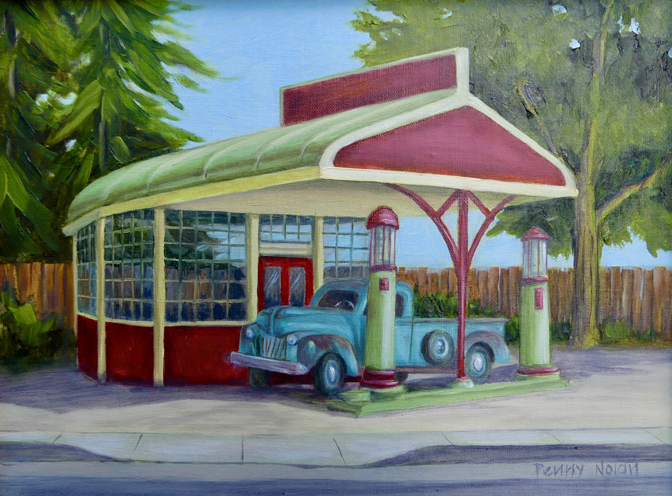Old Town Gas Station