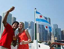 Chicago Riverwalk-First Lady Tour