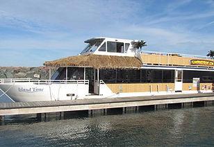 Chicago Riverwalk - Island Party Hut