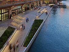 Chicago Riverwalk - Fishing