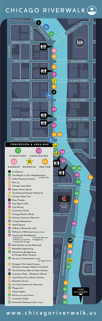 Map of Riverwalk concessions.
