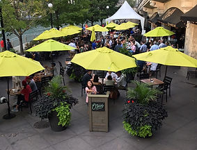 O'Briens Riverwalk Cafe dining