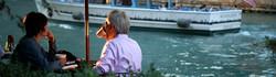 Dining on the Riverwalk