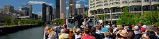 Chicago Riverwalk-Downtown Docks