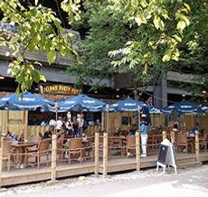 Chicago Riverwalk Island Party Hut