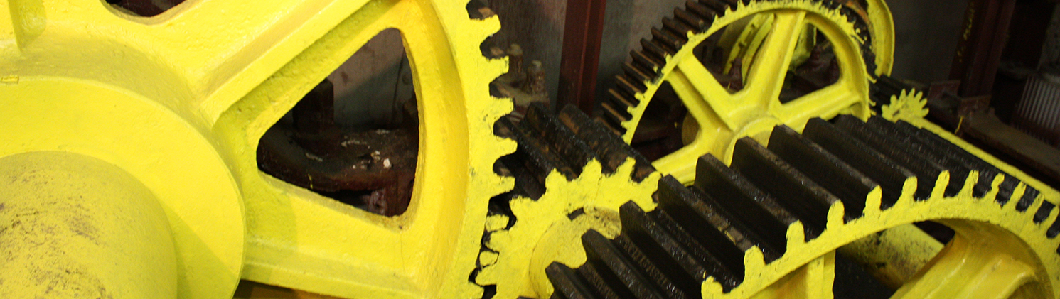 Gears at the Bridgehouse