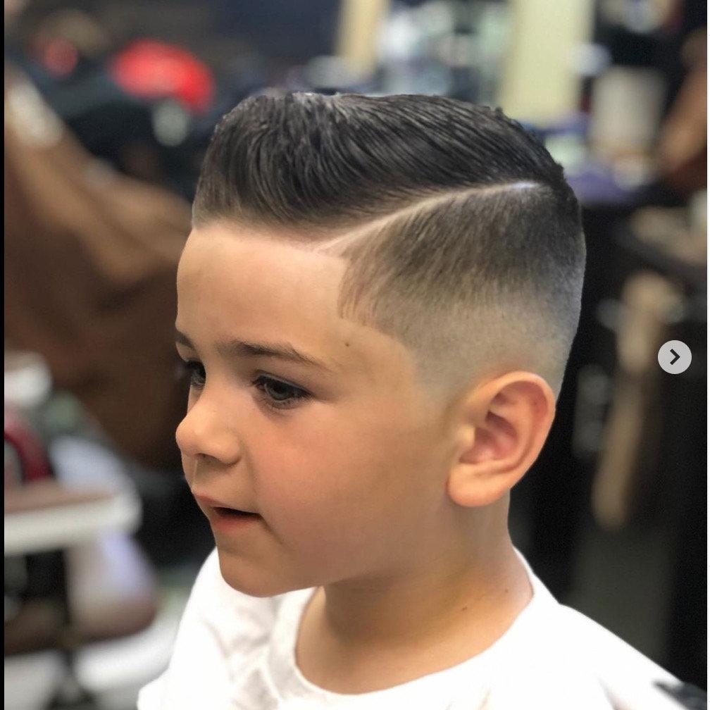 Kid's Cut- Age 3-10 (BW)