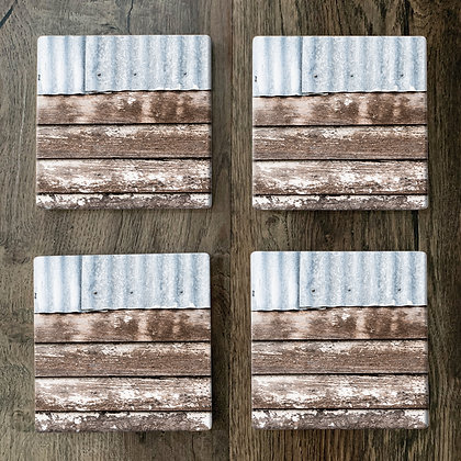 Ceramic Coasters - Rustic