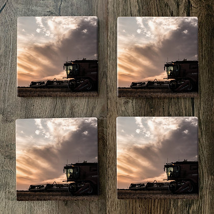 Ceramic Coasters - Harvester