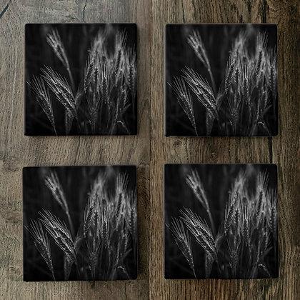 Ceramic Coasters - Wheat