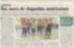 Article Union 1er juillet 2016 claquettes Reims