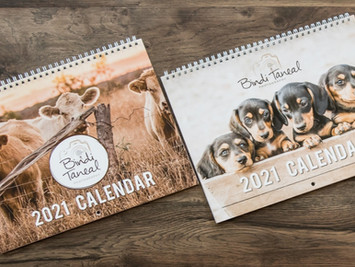 2021 Calendars Available Now!