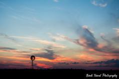 Smokey Sunset - Yamala, Central Queensland