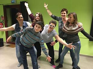 stage comédie musicale Arts Vivants 52 décembre 2017