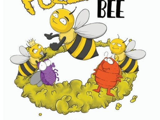Fuzz the Bee in...The Beehive Cup