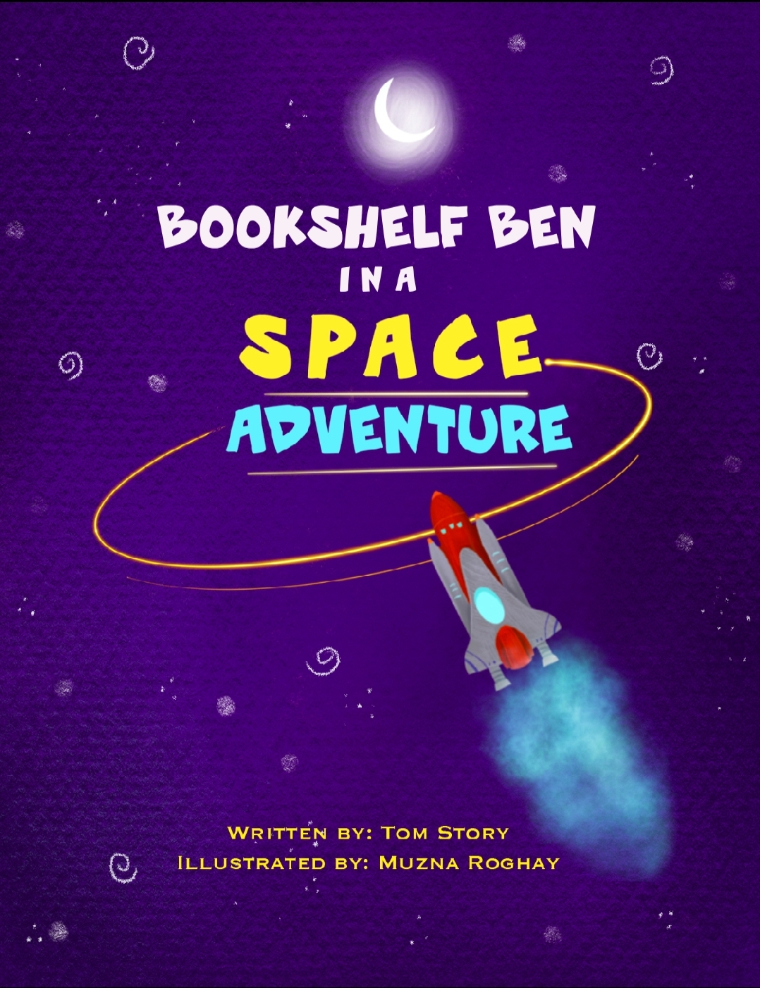 Bookshelf Ben in a Space Adventure
