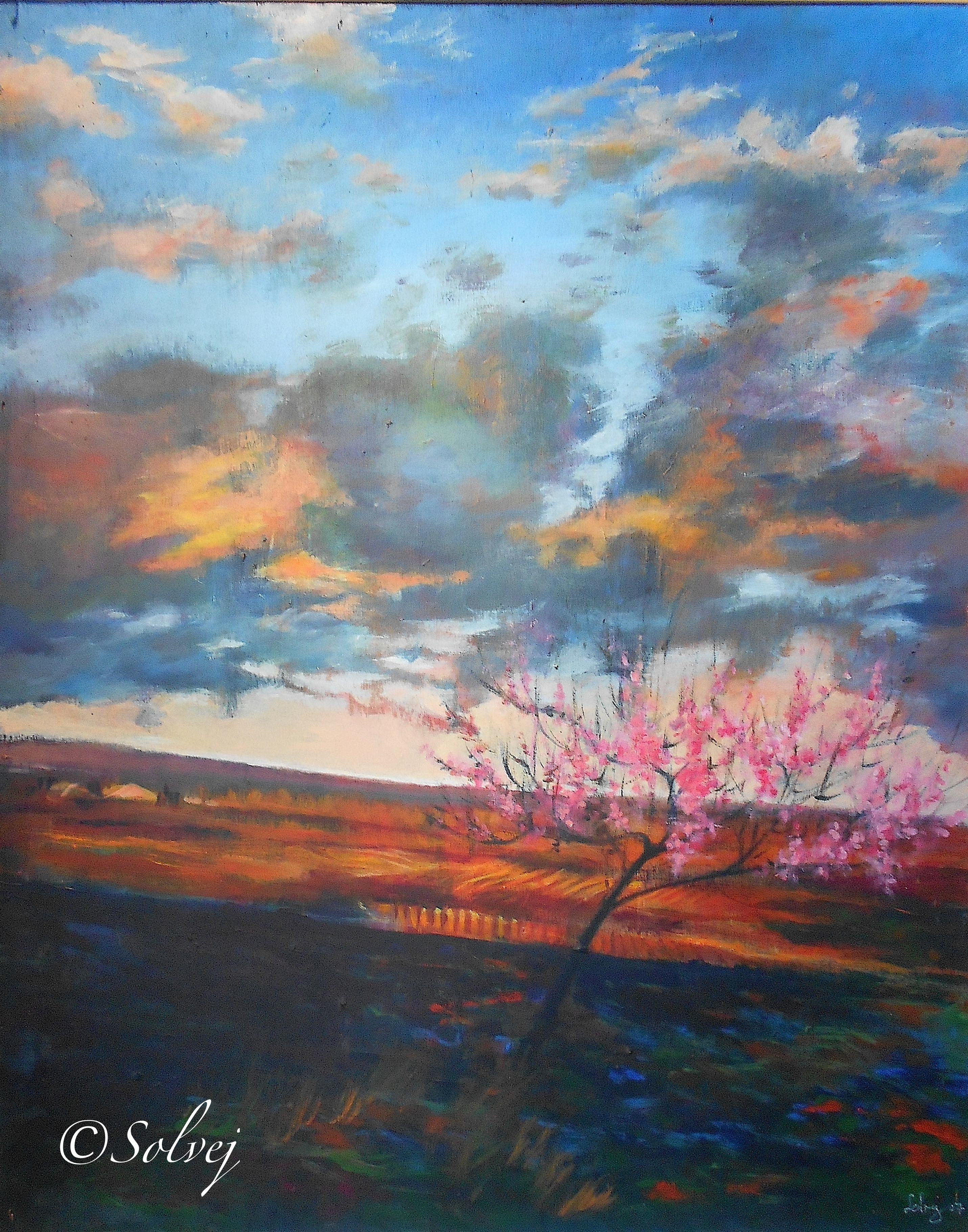 Le Pêcher ou l'arbre rose 536