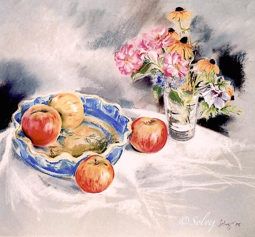 "L'hibiscus ""Oiseau bleu""  518"