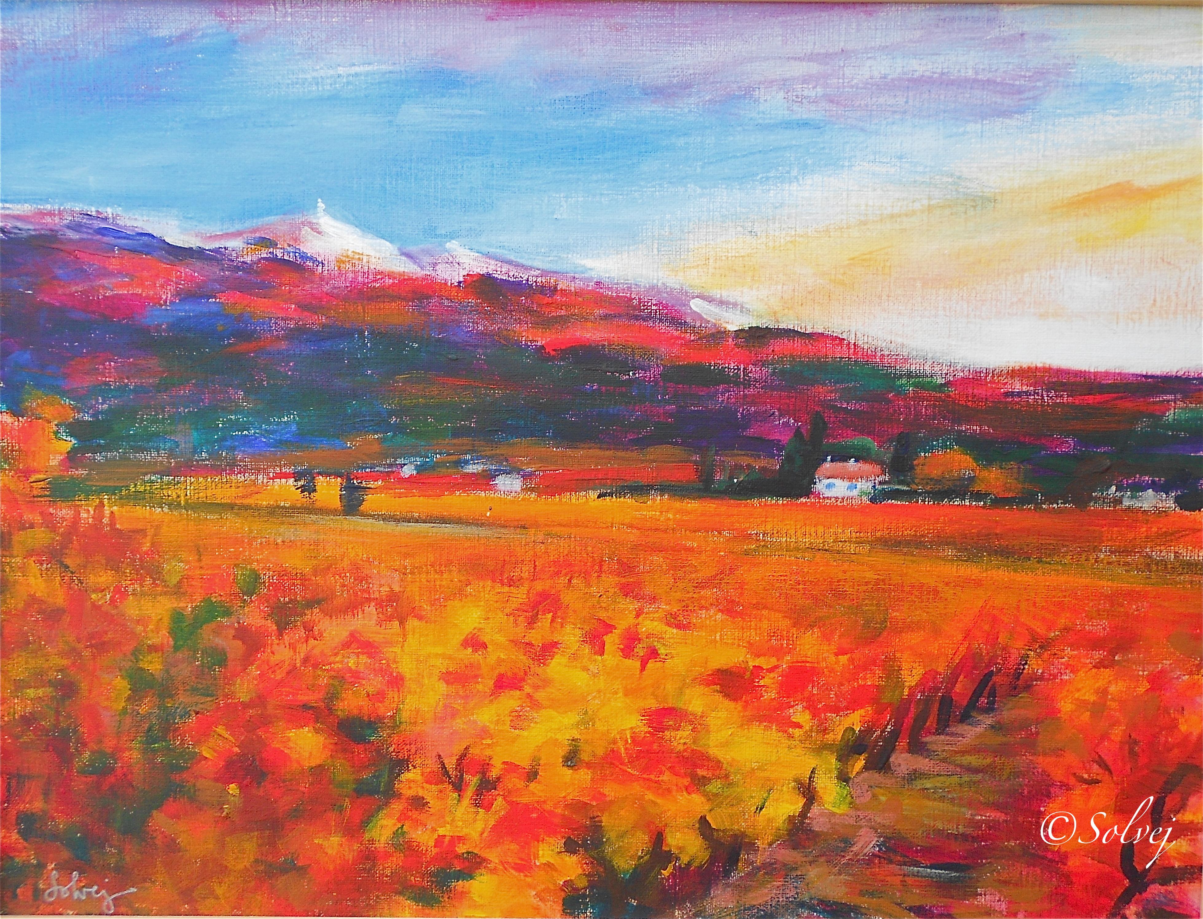 Vtx rose orange 14  391-Ac 40x30 2001.JPG