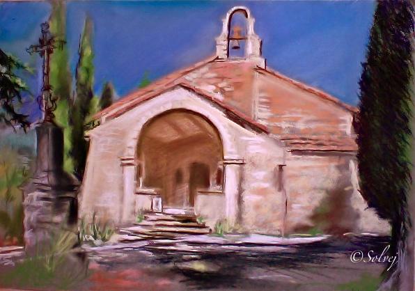 La chapelle du Moustier  Bedoin 514b