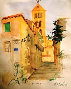 le_soir_à_Segovia_175-A_26x32_7_1985