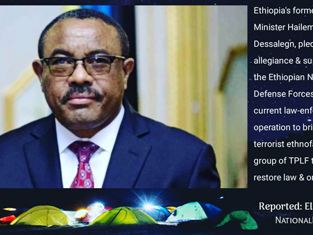 Ethiopia: No One has Left behind the Terrorist Group TPLF, even their Former Leader Stood for ENDF,