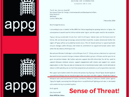 Ethiopia: A Clear Threat from UK based An all-party Parliamentary Group-APPG, TPLF Foreign Assets,