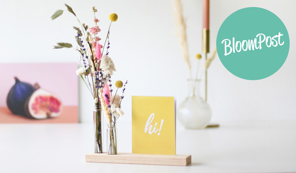 BloomPost-merk-originele-cadeaus-brieven