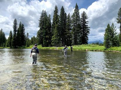 Upper River Fish Habitat Research Photo Story