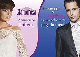 Glamorosa: promozioni, offerte, sconti su abiti da sposa e sposo. Risparmio garantito agli sposi di  Roma, Fiumicino, Ladispoli, Cerveteri, Civitavecchia e Bracciano