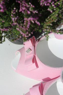 Scarpe sposa rosa