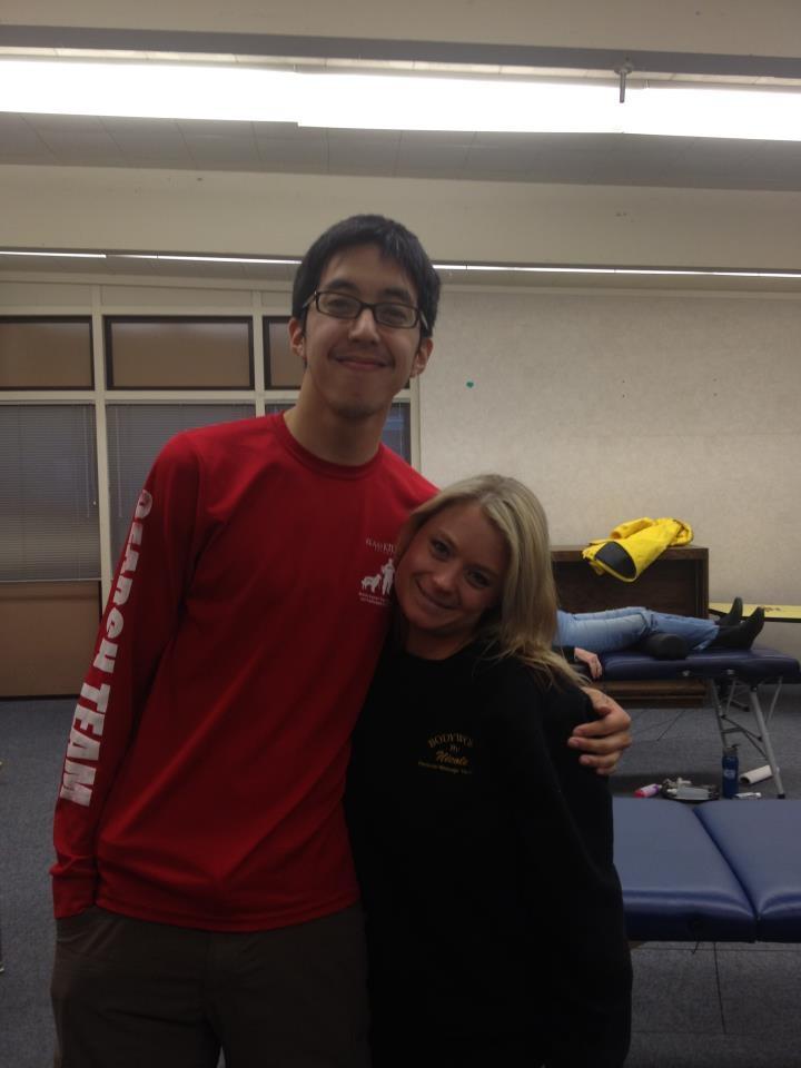 Michael Le and Nicole