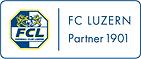 Partnerlogo des FC Luzern. Fussballclub Luzern.