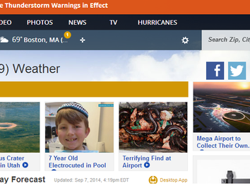 Weather.com, Stop Your Fear Mongering!