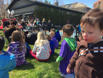 Something to Do this Sunday! - May 17th: Big Joe the Story Teller with Safety First