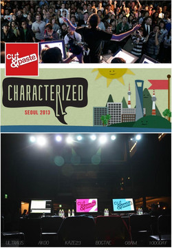 Cut & Paste 2013 seoul ARTIST