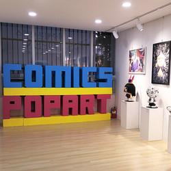 JEJU Webtoon center Comics Popart