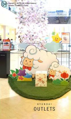 """HYUNDAI Outlet """"Dreaming Sheep"""""""