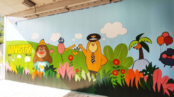 부천시 옥길동 바나스타벽화