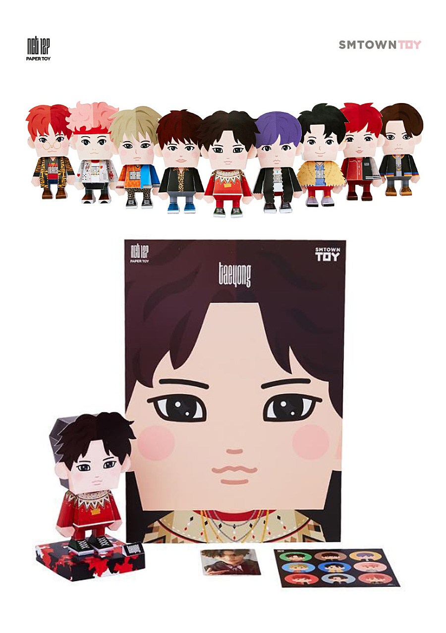 NCT127 - PAPER TOY