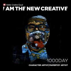 Adobe- I am the new CREATIVE:1000day