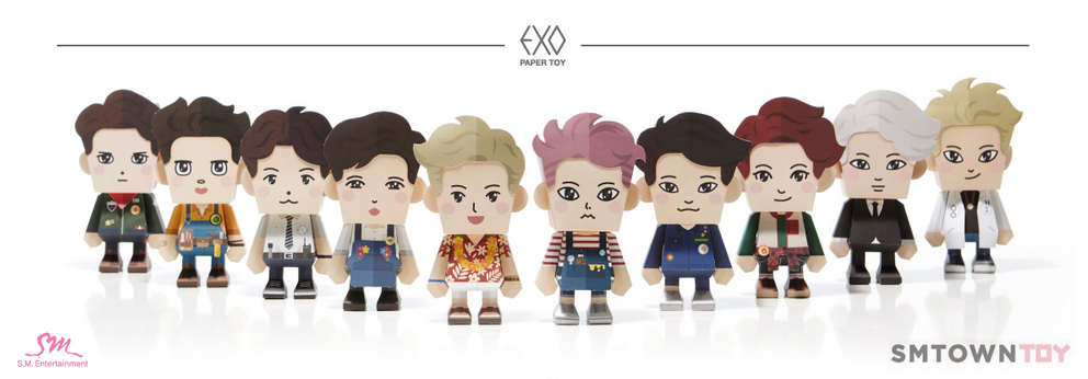 EXO - PAPER TOY