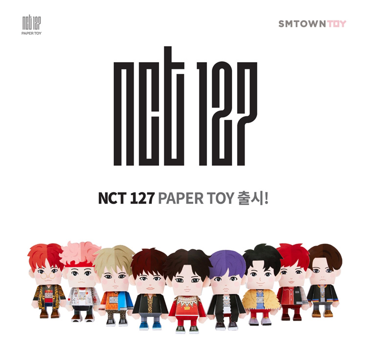 NCT127 PaperToy